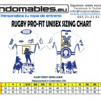 Rugby Jersey size Chart 1