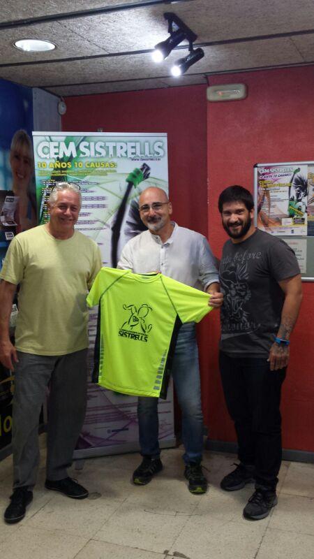 Indomables.eu camisetas personalizadas de running para Cem Sistrells